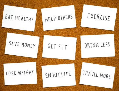 Have you been making some New Year's resolutions?